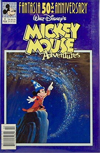 9781561151066: Walt Disney's Mickey Mouse Adventures # 9 - 02/91 - A 50th Anniversary Fantasia Celebration -