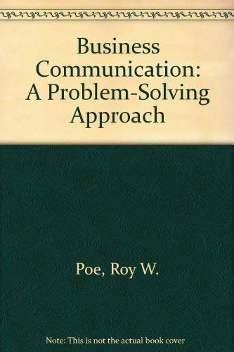 9781561183135: Business Communication: A Problem-Solving Approach