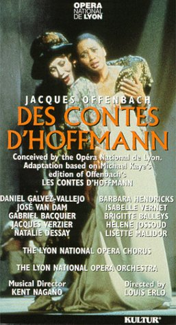 9781561270286: Offenbach - Des contes d'Hoffmann (Some Tales of Hoffmann) [VHS]