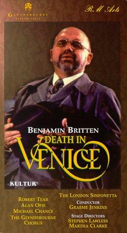 9781561270446: Britten - Death in Venice / Jenkins, Tear, Opie, Glyndebourne Festival Opera [VHS]
