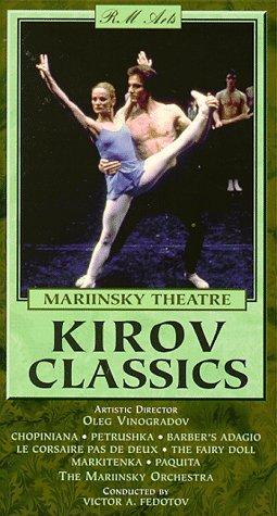 9781561270866: Mariinsky Theatre: Kirov Classics [VHS]