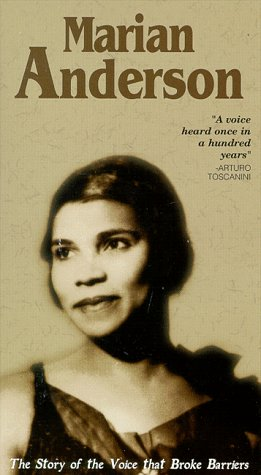 9781561278510: Marian Anderson: A Voice Heard Once in a Hundred Years [VHS]