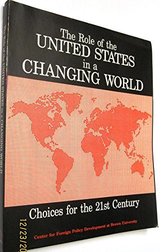 9781561341108: Role of U. S. in a Changing World