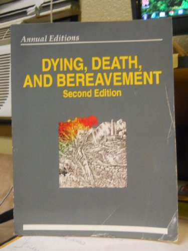 Dying, Death, and Bereavement 94/95 (Annual Editons) - Dickinson, George E.; Leming, Michael R.
