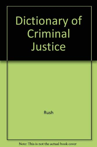 9781561342976: Dictionary of Criminal Justice