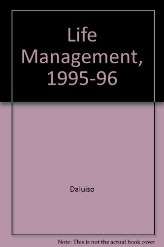 Life Management, 1995-96 (Annual Editions Series): Daluiso