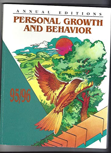 Personal Growth and Behavior 95/96 (The Annual: Duffy, Karen G.
