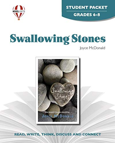 9781561370375: Swallowing Stones - Student Packet by Novel Units, Inc.