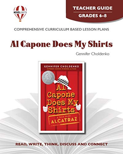 9781561370443: Al Capone Does My Shirts - Teacher Guide by Novel Units