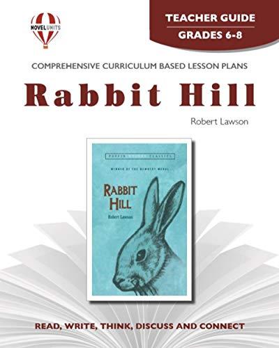 9781561370603: Rabbit Hill (Novel units) (Teacher Guide)