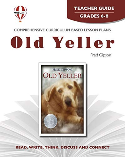 9781561370818: Old Yeller (Teacher Guide)