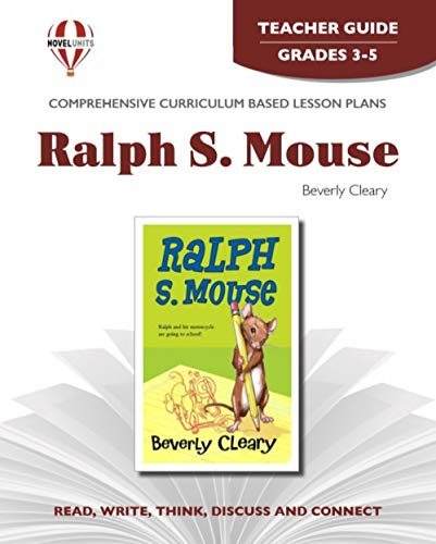 9781561371730: Teacher's Guide for Ralph S. Mouse