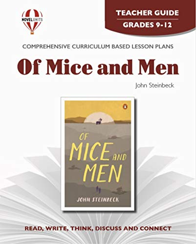 9781561371877: Of Mice and Men - Teacher Guide by Novel Units