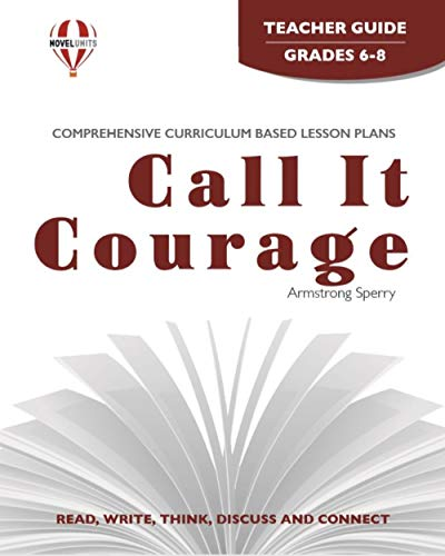 9781561372454: Call It Courage - Teacher Guide by Novel Units