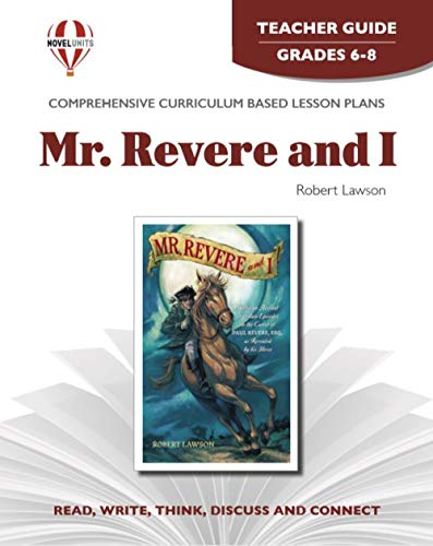 9781561372768: Mr. Revere and I, by Robert Lawson: Teacher Guide