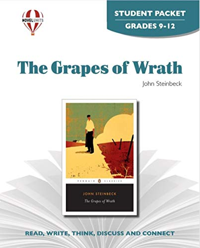 The Grapes of Wrath - Student Packet by Novel Units, Inc.: Novel Units; Inc.