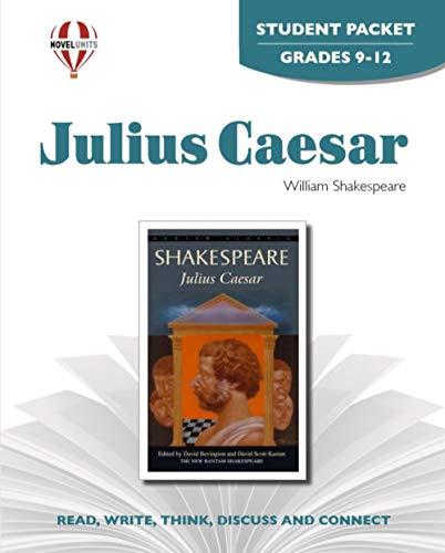9781561373048: Julius Caesar - Student Packet by Novel Units