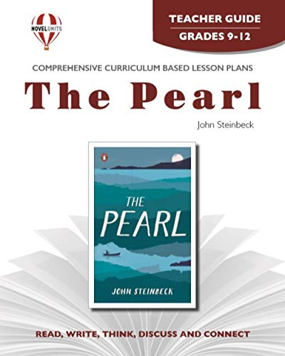 9781561373253: The Pearl - Teacher Guide by Novel Units