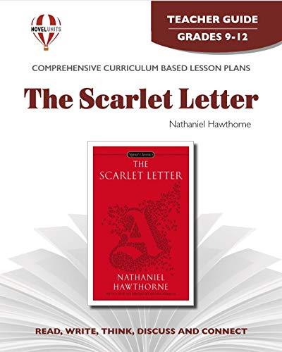 9781561373383: The Scarlet Letter - Teacher Guide by Novel Units