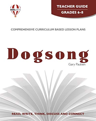 9781561373420: Dogsong (Teacher Guide)