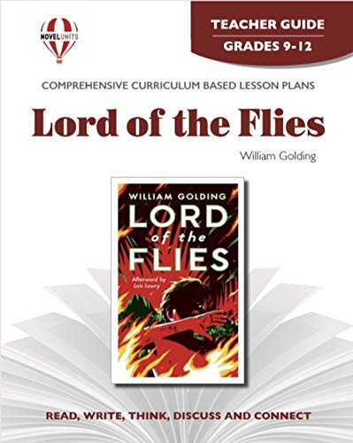 9781561373833: Lord of the Flies -Teacher Guide by Novel Units, Inc. (Modern Critical Interpretations Series)
