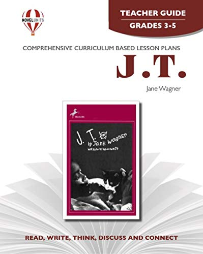 9781561374533: J.T. - Teacher Guide by Novel Units, Inc.