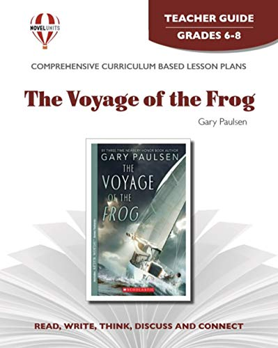 9781561375035: Voyage of the Frog - Teacher Guide by Novel Units