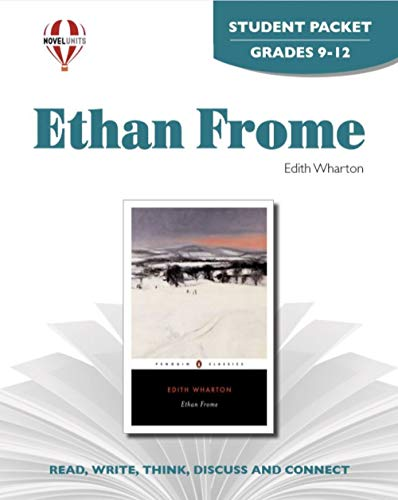 9781561375134: Ethan Frome - Student Packet by Novel Units, Inc.