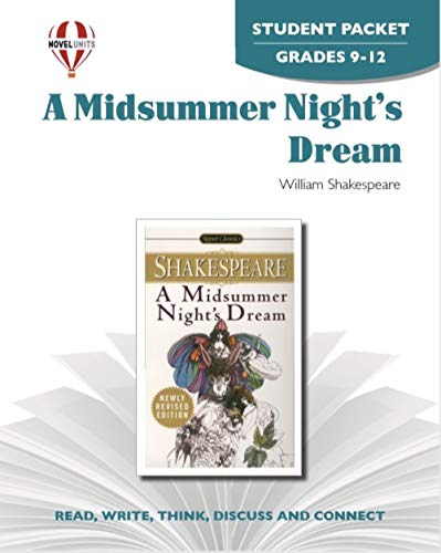 9781561375196: Midsummer Nights Dream - Student Packet by Novel Units, Inc.