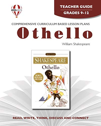9781561375202: Othello - Teacher Guide by Novel Units, Inc.