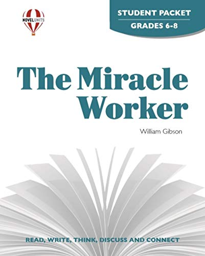 9781561375318: Miracle Worker - Student Packet by Novel Units