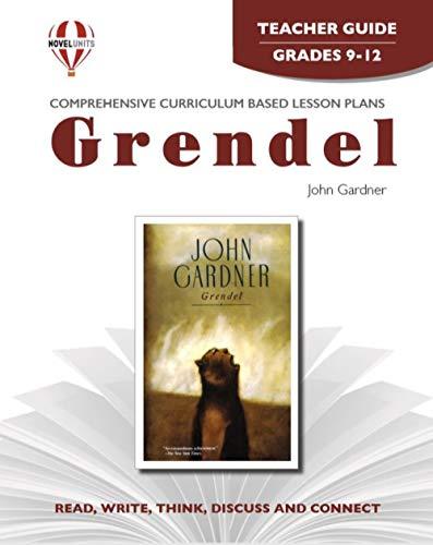 9781561375608: Grendel - Teacher Guide by Novel Units