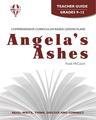 9781561375721: Angela's Ashes - Teacher Guide by Novel Units