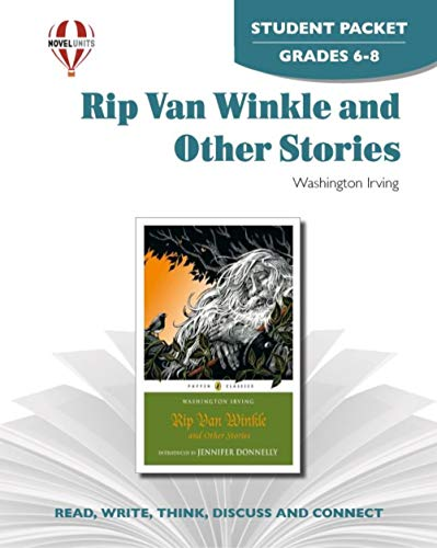 9781561375851: Rip Van Winkle and Other Stories - Student Packet by Novel Units, Inc.