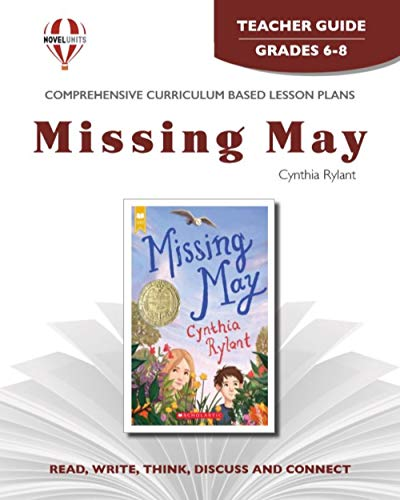 9781561375905: Missing May - Teacher Guide by Novel Units, Inc.
