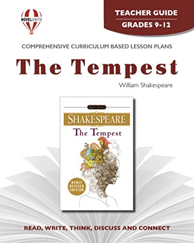 Tempest - Teacher Guide by Novel Units, Inc.: Novel Units, Inc.