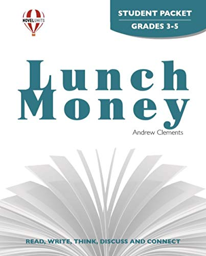 9781561376445: Lunch Money - Student Packet by Novel Units, Inc.