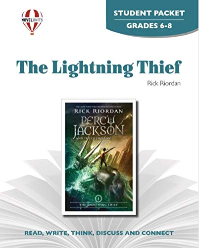 9781561377190: The Lightning Thief - Student Packet by Novel Units, Inc.