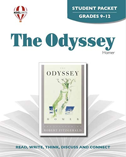 9781561377619: The Odyssey - Student Packet by Novel Units, Inc.