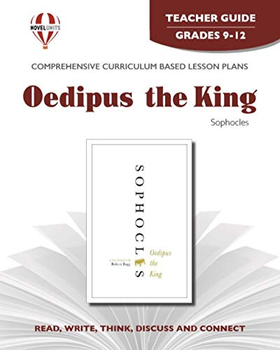 9781561377626: Oedipus the King - Teacher Guide by Novel Units, Inc.