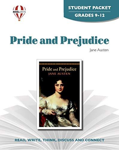 Pride and Prejudice - Student Packet by Novel Units, Inc.: Novel Units