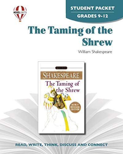 9781561377695: Taming of The Shrew - Student Packet by Novel Units
