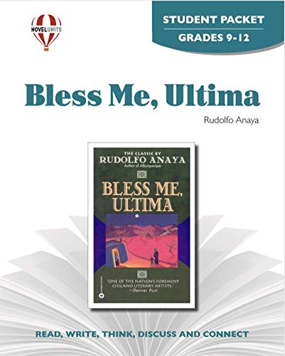 9781561378074: Bless Me, Ultima - Student Packet by Novel Units, Inc.