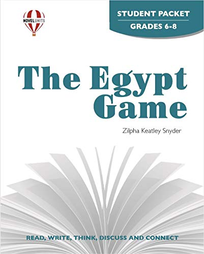 9781561378241: The Egypt Game - Student Packet by Novel Units