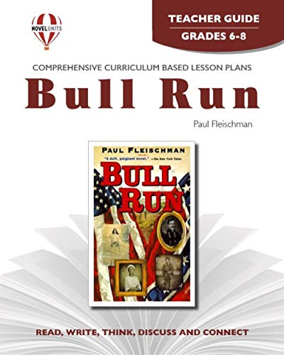 9781561378982: Bull Run - Teachers Guide by Novel Units, Inc.