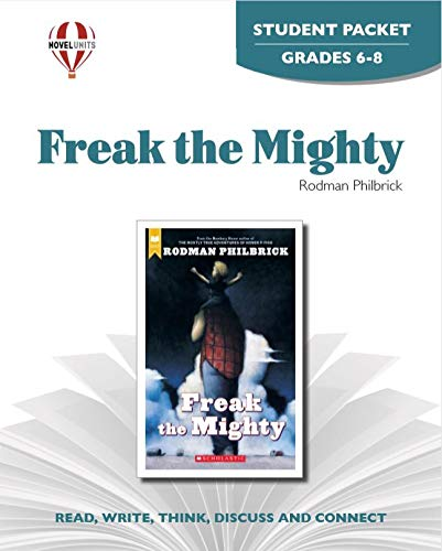9781561379019: Freak the Mighty - Student Packet by Novel Units