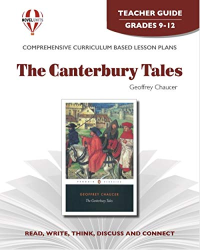9781561379194: Canterbury Tales - Teacher Guide by Novel Units, Inc., Chaucer, Lumiansky,Trans