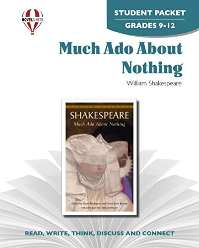 9781561379262: Much Ado About Nothing - Student Packet by Novel Units, Inc.