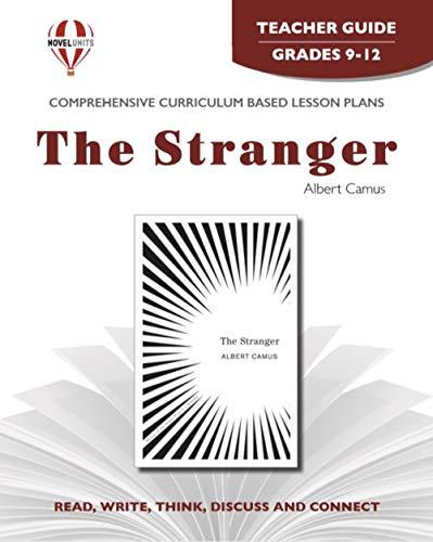 9781561379293: The Stranger - Teacher Guide by Novel Units