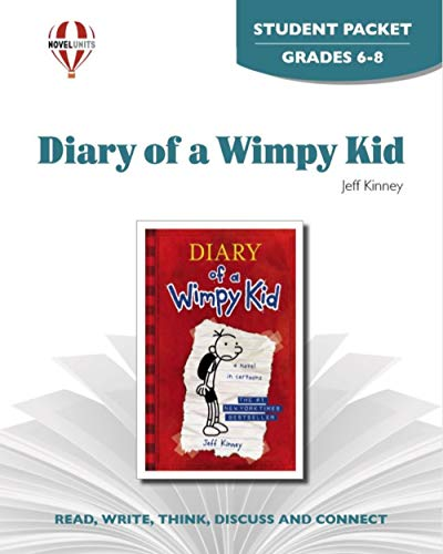 Diary Of a Wimpy Kid - Student Packet by Novel Units, Inc.: Novel Units Inc.